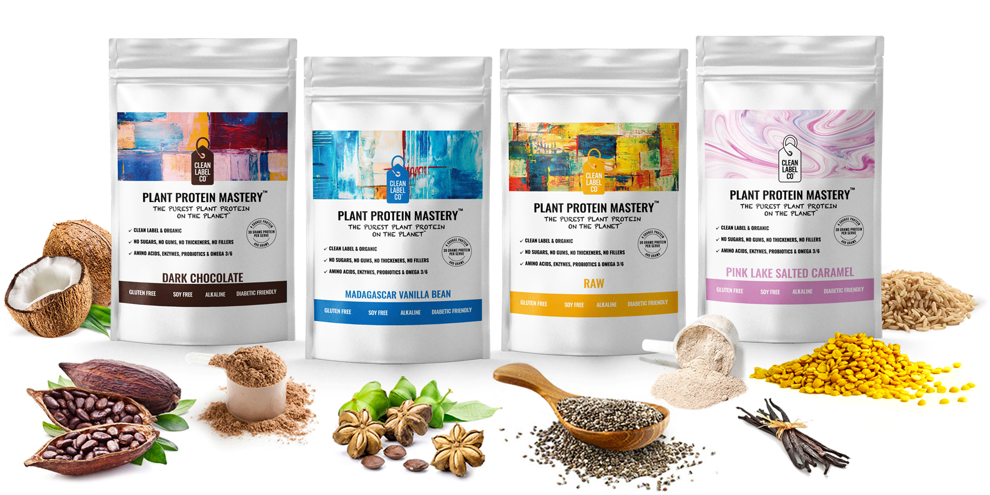 It's just a photo of Sizzling Clean Label Project Vegan Protein