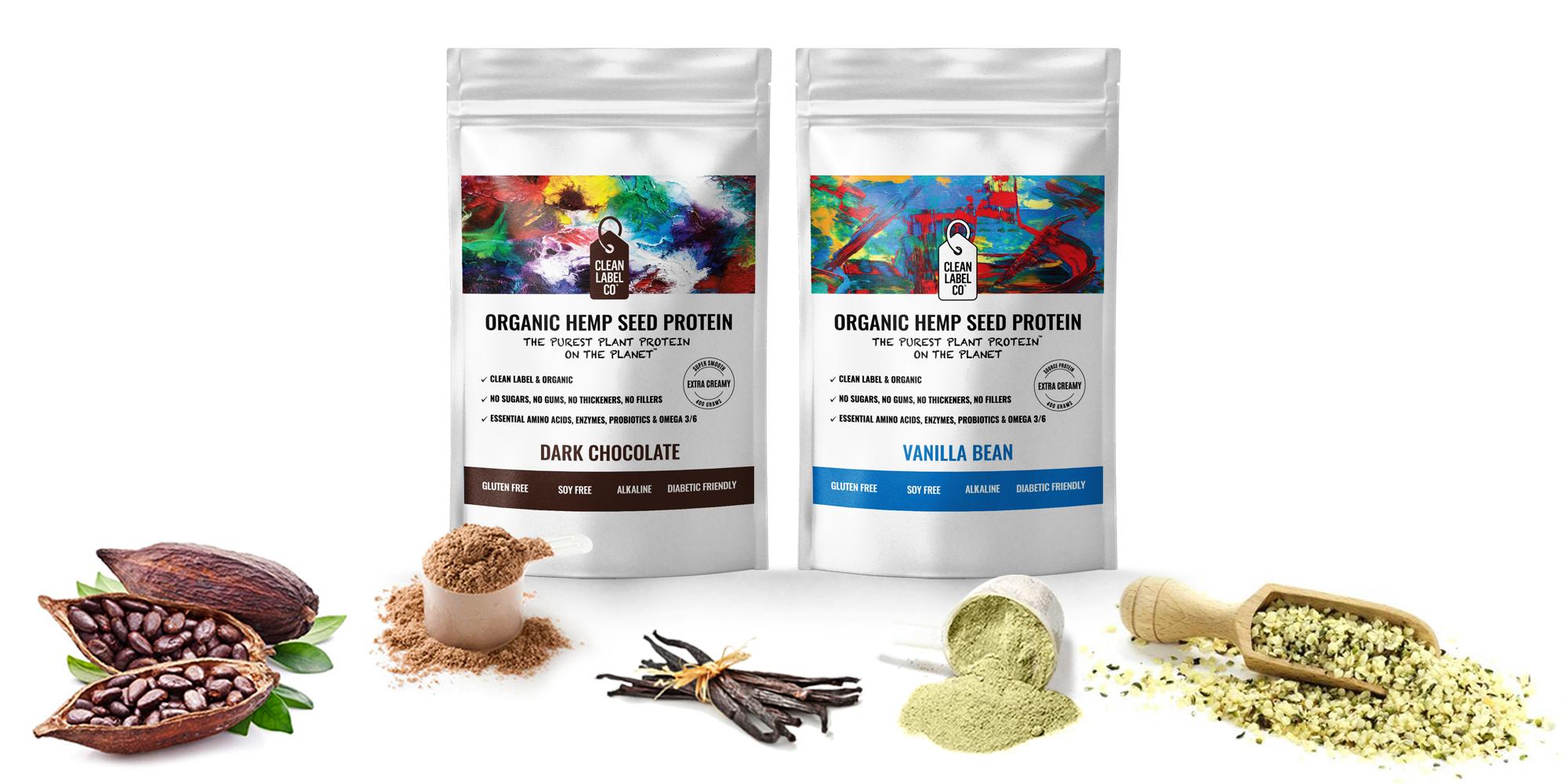 Hemp Protein Powder Australia Organic Hemp Seed Protein Cleanlabelco